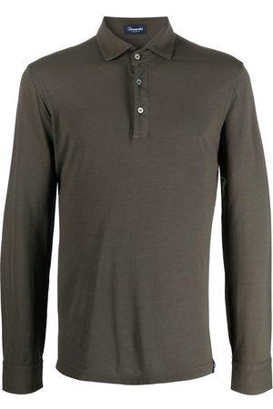 Drumohr Muži S dlouhým rukávem - Long-sleeved polo shirt