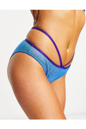 Lepel Chelsea geo mini brief in blue and purple-Multi