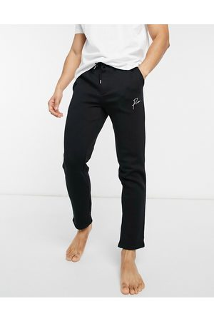 Jack & Jones Lounge co-ord joggers with script logo in black