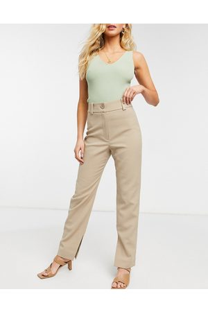 & OTHER STORIES Fitted skinny trousers in beige