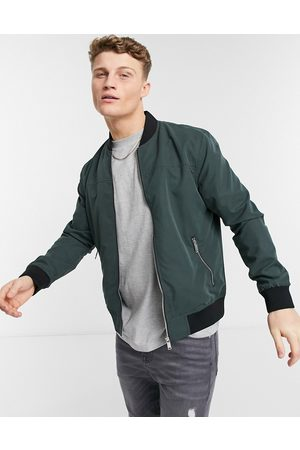 River Island Green bomber