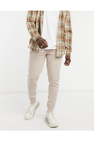 River Island Joggers in stone