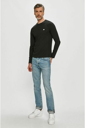 Tommy Hilfiger Pánské černé tričko s dlouhým rukávem