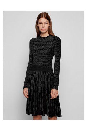 HUGO BOSS Úpletové šaty