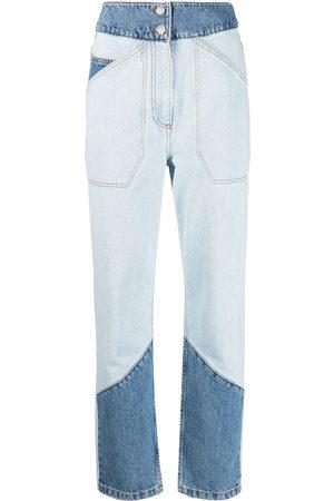 adidas Ženy S vysokým pasem - Apolo high-waisted patchwork jeans