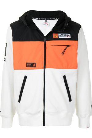 adidas Colour-block panel jacket