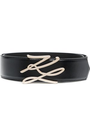 adidas Logo-plaque leather belt