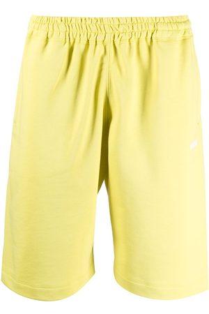 adidas Logo-print cotton shorts