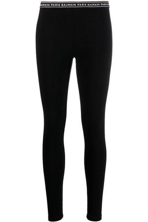 adidas Logo waistband stretch leggings