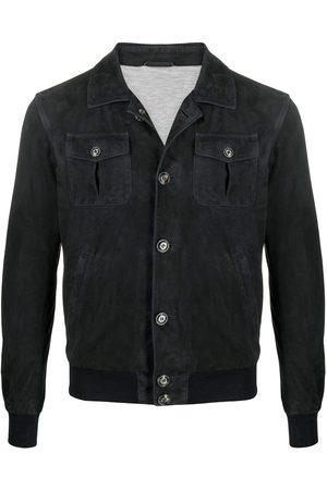 adidas Leather shirt jacket