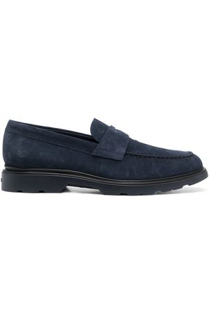 adidas Strap-detail suede loafers
