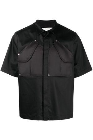 adidas Muži S krátkým rukávem - Patch pocket short-sleeved shirt