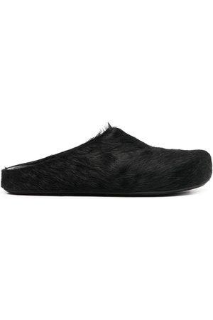 adidas Calf hair slippers