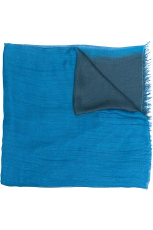 adidas Gradient-effect fringed-edge scarf
