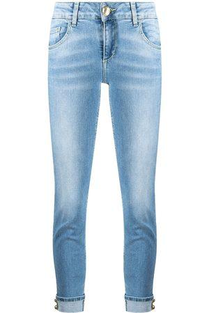 adidas Turn-up hem jeans