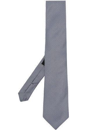 adidas Geometric-print silk tie
