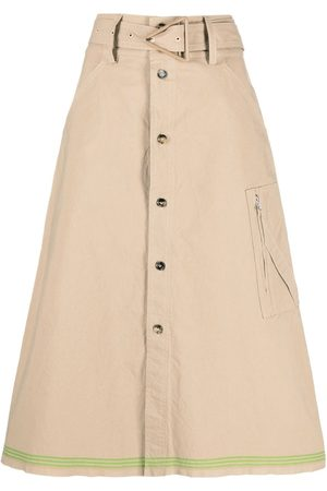adidas Belted A-line skirt