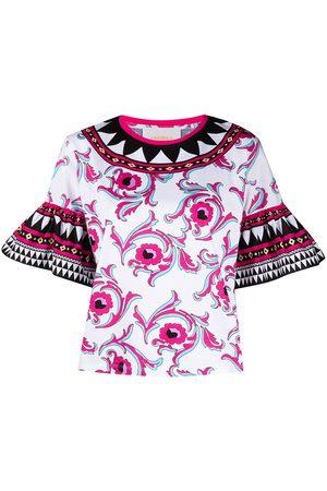 adidas Floral short-sleeve top