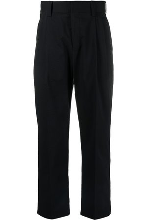 adidas Striped-pattern tailored trousers