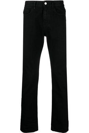 adidas High-rise straight leg jeans