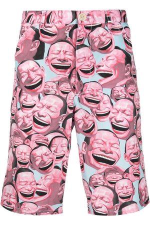 adidas Laughter print shorts