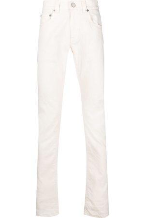 adidas Low-rise straight-leg jeans