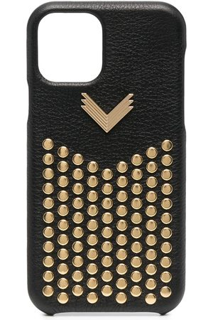 adidas Studded leather iPhone 11 Pro case