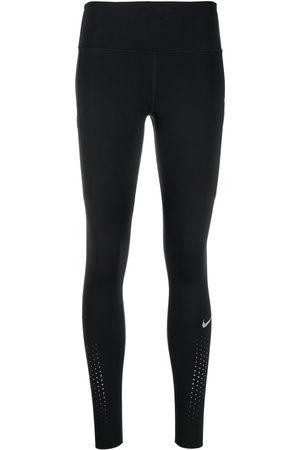 Nike Ženy Legíny - Swoosh-print stretch-fit leggings