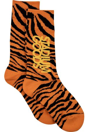 adidas Tiger-print socks