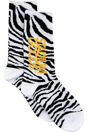adidas Zebra-print socks