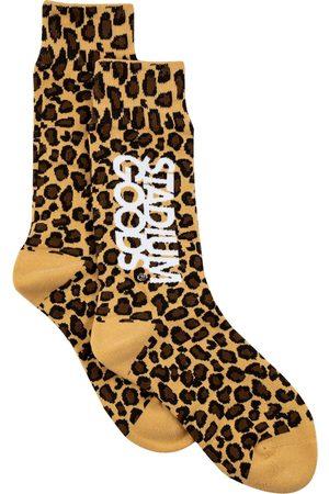 adidas Leopard-print socks