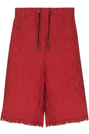 adidas Moon Salutation jacquard shorts