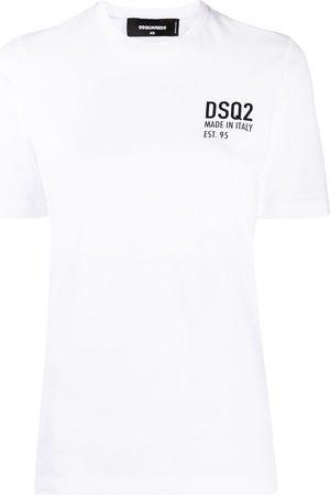 adidas Logo print short-sleeve T-shirt