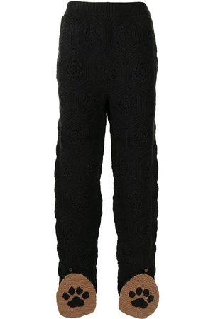 adidas Monogram-patterned track pants
