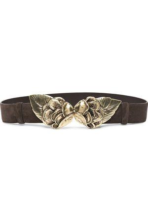 adidas Leaf-plaque suede belt