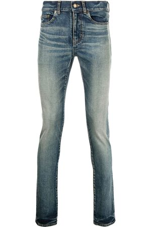 adidas Whiskering-effect skinny jeans
