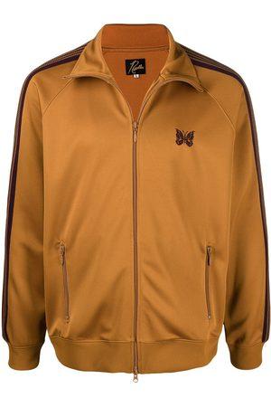 adidas Two-tone zipped jacket