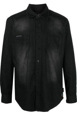 adidas Button-down denim shirt