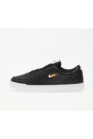 Nike Wmns Court Vintage Premium Black/ White-Total Orange