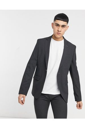 Bolongaro Trevor Muži Saka - Plain skinny suit jacket in grey