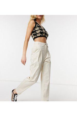 Reclaimed Vintage Inspired original peg trouser-Cream