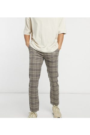 Reclaimed Vintage Inspired skinny check trouser-Multi