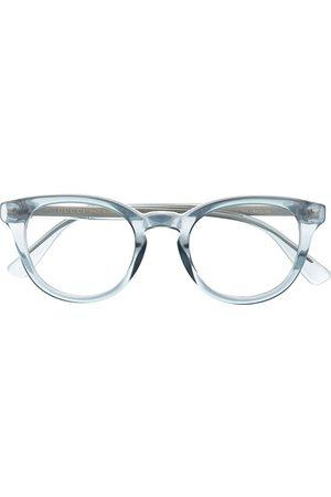 Gucci Logo pantos-frame glasses
