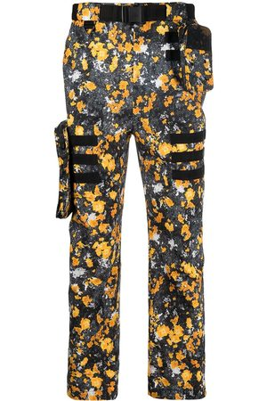 McQ Abstract-print cargo trousers