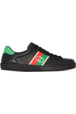 Gucci Ace leather low-top sneakers