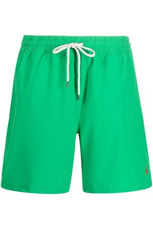 Polo Ralph Lauren Drawstring recycled-polyester swim shorts
