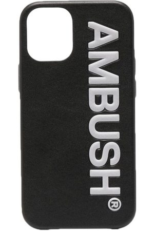 AMBUSH IPHONE 12 MINI LOGO AMB CASE BLACK TOFU