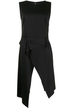 Sulvam Jersey asymmetric slit dress