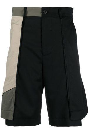 Feng Chen Wang Panelled shorts
