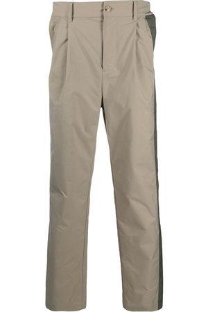 Feng Chen Wang Pleat-detail straight-leg trousers